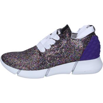 Boty Ženy Nízké tenisky Elena Iachi sneakers multicolor glitter BT587 Multicolore
