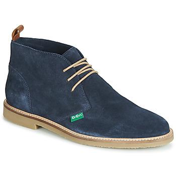 Boty Muži Kotníkové boty Kickers TYL Tmavě modrá