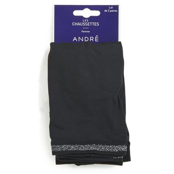 Textilní doplňky Ženy Ponožky André MARGUERITE Černá