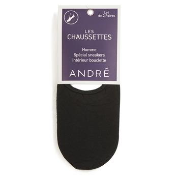 Textilní doplňky Muži Ponožky André TERRY Černá