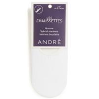 Textilní doplňky Muži Ponožky André TERRY Bílá