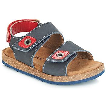 Boty Chlapecké Sandály Kickers FIRST Tmavě modrá