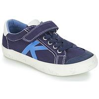 Boty Chlapecké Nízké tenisky Kickers GODY Tmavě modrá