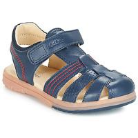 Boty Chlapecké Sandály Kickers PLATINIUM Tmavě modrá
