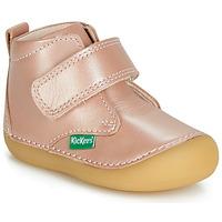 Boty Chlapecké Kotníkové boty Kickers SABIO Růžová