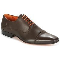 Boty Muži Šněrovací společenská obuv Carlington RIOCHI Hnědá
