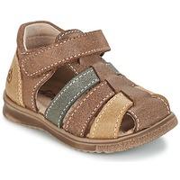 Boty Chlapecké Sandály Citrouille et Compagnie FRINOUI Hnědá / Vícebarevná