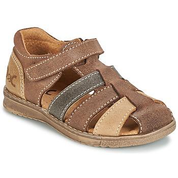 Boty Chlapecké Sandály Citrouille et Compagnie FRINOUI Hnědá