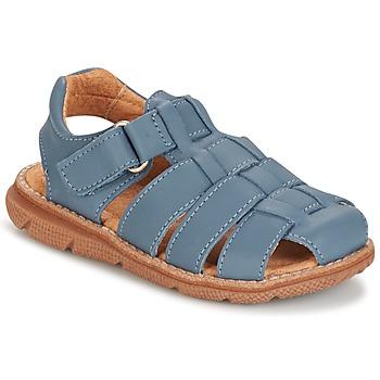 Boty Chlapecké Sandály Citrouille et Compagnie GLENO Modrá