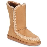 Boty Ženy Kozačky LPB Shoes NATHALIE Velbloudí hnědá