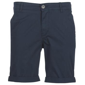 Textil Muži Kraťasy / Bermudy Selected SLHSTRAIGHTPARIS Tmavě modrá