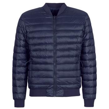 Textil Muži Prošívané bundy Selected SLHPADDED BOMBER Tmavě modrá