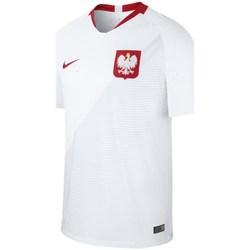 Textil Muži Trička s krátkým rukávem Nike Breathe Stadium Home Bílé