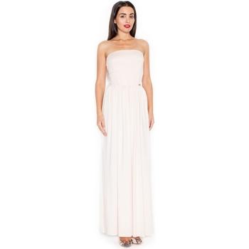 Textil Ženy Společenské šaty Katrus Dámské šaty K252 pink