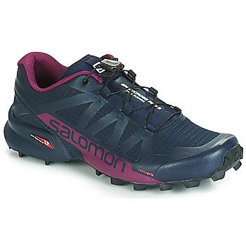 Boty Ženy Běžecké / Krosové boty Salomon SPEEDCROSS PRO 2 Černá / Fialová