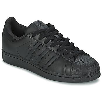 Boty Muži Nízké tenisky adidas Originals SUPERSTAR FOUNDATION Černá