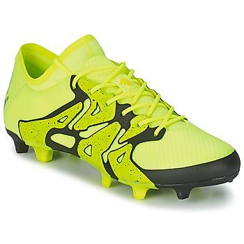Boty Muži Fotbal adidas Performance X 15.1 FG/AG Žlutá