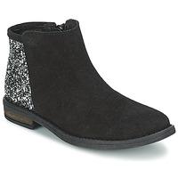 Boty Dívčí Kotníkové boty Acebo's MERY Černá
