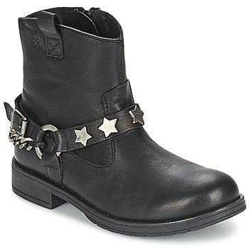 Boty Dívčí Kotníkové boty Acebo's JERIE Černá
