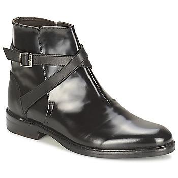 Boty Ženy Kotníkové boty Hudson IRVINE Černá