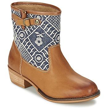 Roxy Kotníkové boty CLYDE - Hnědá