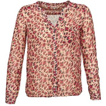 Textil Ženy Košile s dlouhymi rukávy Best Mountain AZARI Béžová / Červená