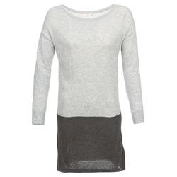 Textil Ženy Krátké šaty DDP EMMI Černá / Šedá