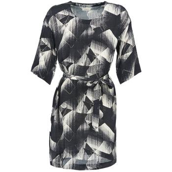 Textil Ženy Krátké šaty Nümph GINGER Černá / Bílá
