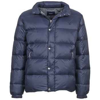 Textil Muži Prošívané bundy Gant GUIDOULE Tmavě modrá