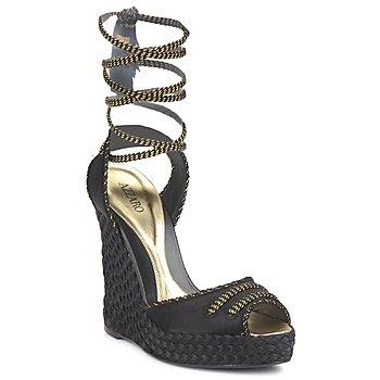 Boty Ženy Sandály Azzaro LUGGANO Černá