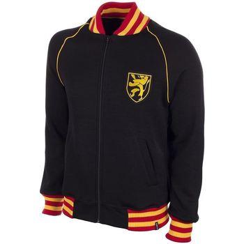 Textil Muži Mikiny Copa Football Sweat zippé Belgique 1960's noir/jaune/rouge