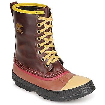 Boty Muži Zimní boty Sorel MENS SENTRY ORIGINAL Hnědá