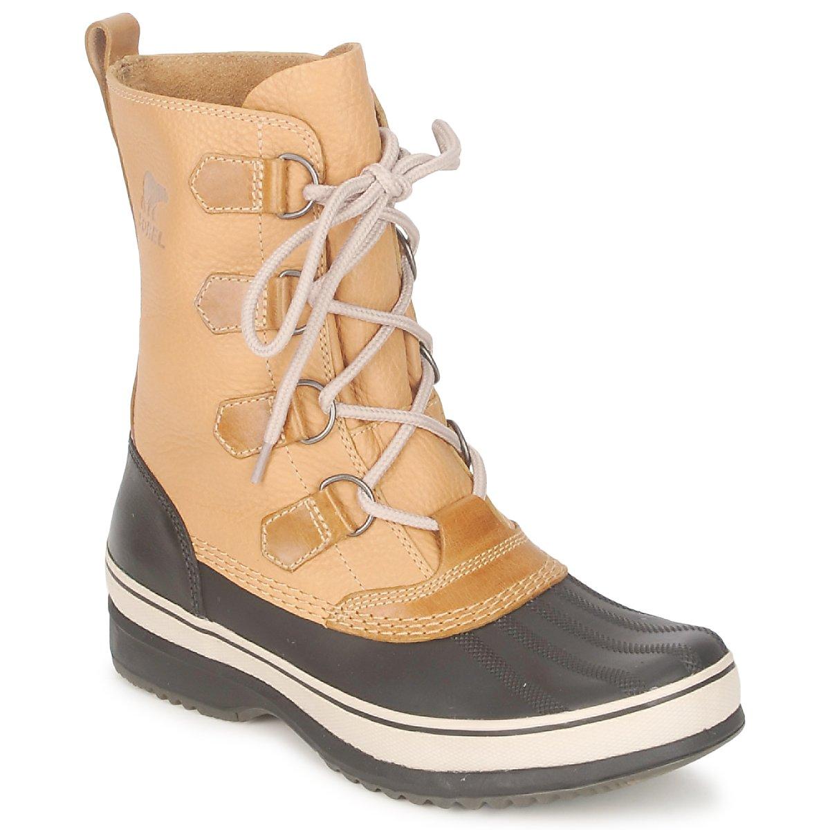 Zimni boty Sorel KITCHENER CARIBOU Žlutá kari