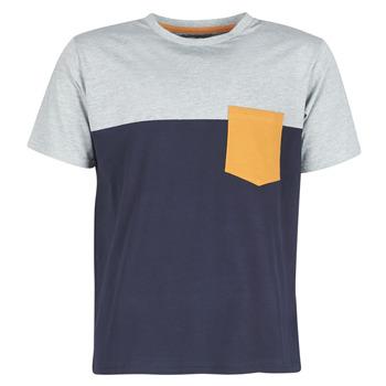 Textil Muži Trička s krátkým rukávem Casual Attitude JERMENE Šedá / Tmavě modrá