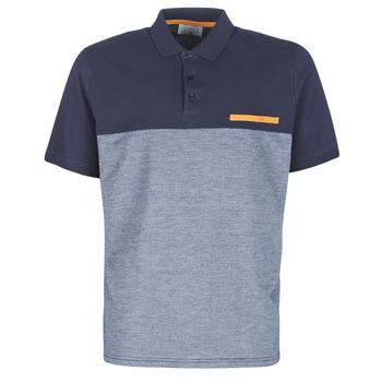 Textil Muži Polo s krátkými rukávy Casual Attitude JACOBI Tmavě modrá / Šedá
