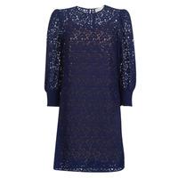 Textil Ženy Krátké šaty MICHAEL Michael Kors BLOUSON SLV LACE DRS Tmavě modrá