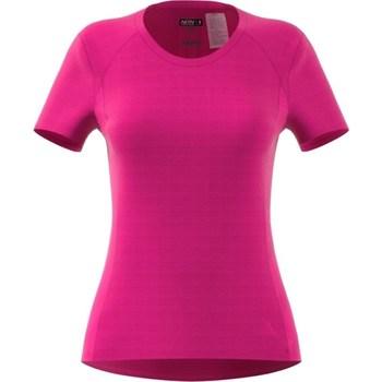 Textil Ženy Trička s krátkým rukávem adidas Originals FR SN SS Tee W Růžové