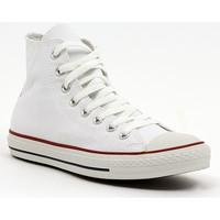 Boty Muži Kotníkové tenisky Converse ALL STAR HI  OPTICAL WHITE Multicolore