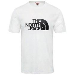 Textil Muži Trička s krátkým rukávem The North Face M SS Easy Tee Bílé