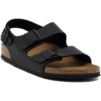 Birkenstock Sandály MILANO SCHWARZ - ruznobarevne