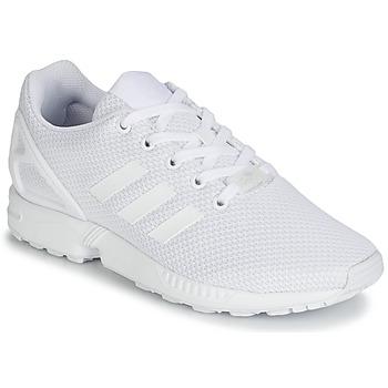 Boty Děti Nízké tenisky adidas Originals ZX FLUX J Bílá
