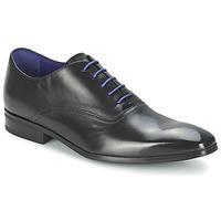 Boty Muži Šněrovací společenská obuv Azzaro NOBODAN Černá
