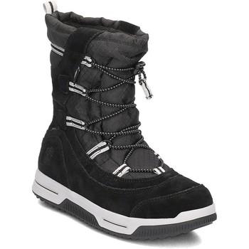 Boty Děti Zimní boty Timberland Snow Stomper Pull ON WP Černé