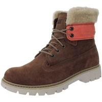 Boty Ženy Zimní boty Caterpillar Lookout Fur W Červené, Béžové, Hnědé