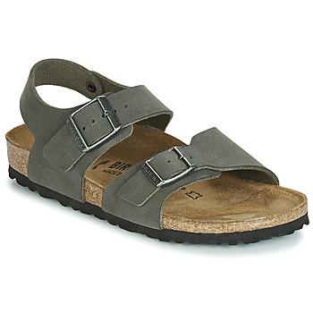 Boty Chlapecké Sandály Birkenstock NEW YORK Šedá