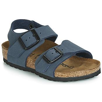 Boty Chlapecké Sandály Birkenstock NEW YORK Tmavě modrá