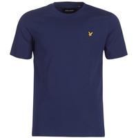 Textil Muži Trička s krátkým rukávem Lyle & Scott FAFARLIBE Tmavě modrá