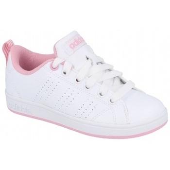 Boty Děti Nízké tenisky adidas Originals VS Advantage CL K Pink bílá