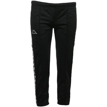 Textil Ženy Teplákové kalhoty Kappa Banda Adev Slim Černá