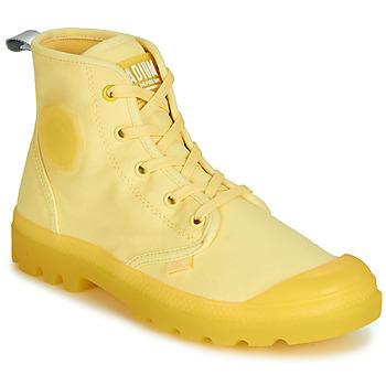 Boty Ženy Kotníkové boty Palladium PAMPALICIOUS Žlutá